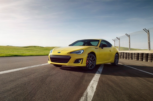 Subaru reveals 2017 BRZ Series Yellow limited edition