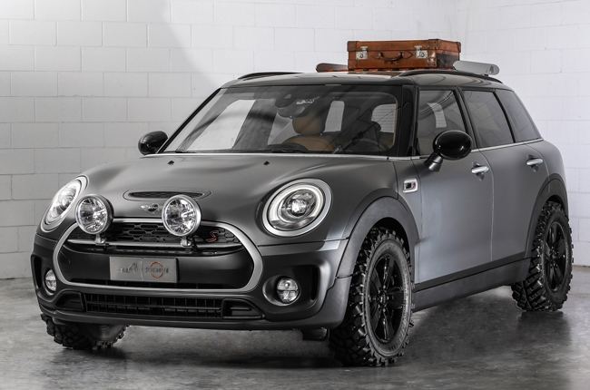MINI reveals motorcycle-inspired Clubman ALL4 Scrambler concept