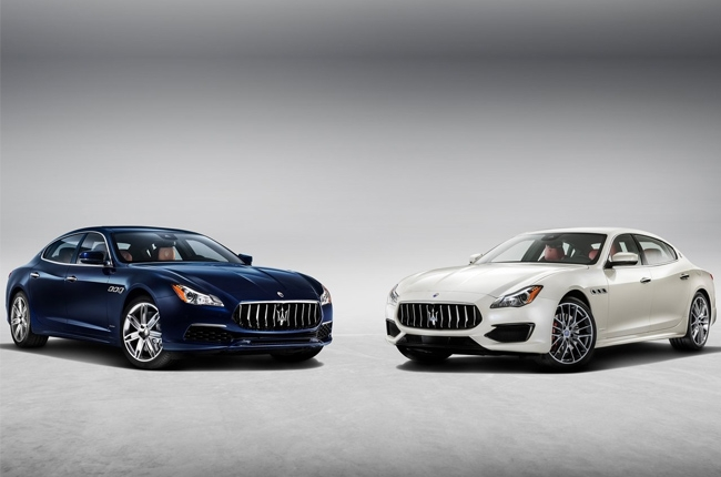 Maserati reveals refreshed Quattroporte
