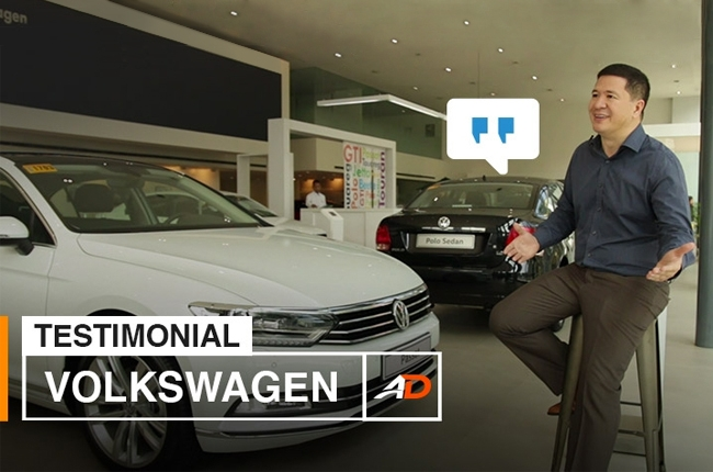 Volkswagen PH Marketing Director shares his experience with AutoDeal Philippines