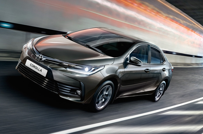 Toyota reveals 2017 Corolla in Russia