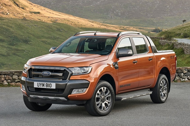 What will you get in a Ford Ranger Wildtrak 3.2L 4x4 AT?