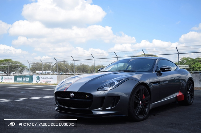 A track experience with the Jaguar F-Type Coupe