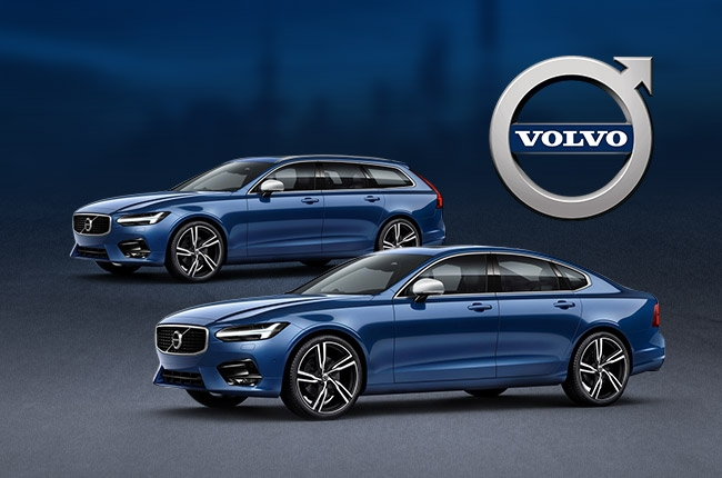 Volvo introduces R-Design models of S90, V90