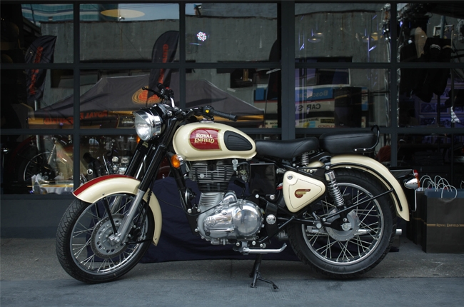 Royal Enfield opens first exclusive store in Manila