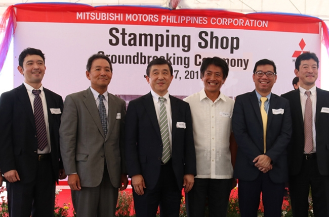 Mitsubishi PH to open its stamping shop facility in 2018