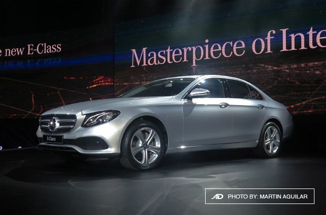 Mercedes-Benz PH launches 2017 E-Class