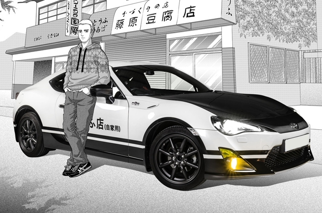 Toyota reveals manga-inspired GT86 Initial D concept