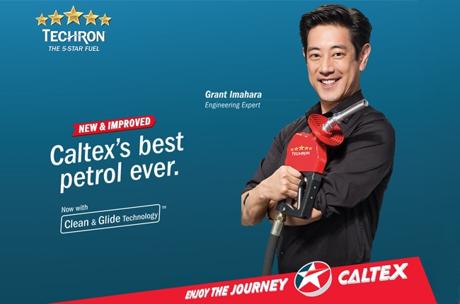 Caltex launches all-new Techron with Clean & Glide technology