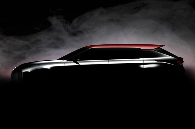Mitsubishi Grand Tourer concept teased