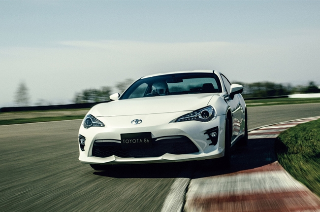 Toyota tweaks 86 with enhanced driving dynamics