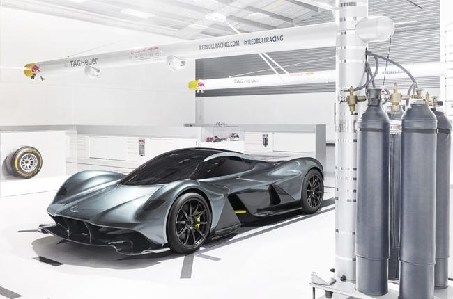 Aston Martin unveils AM-RB 001 hypercar
