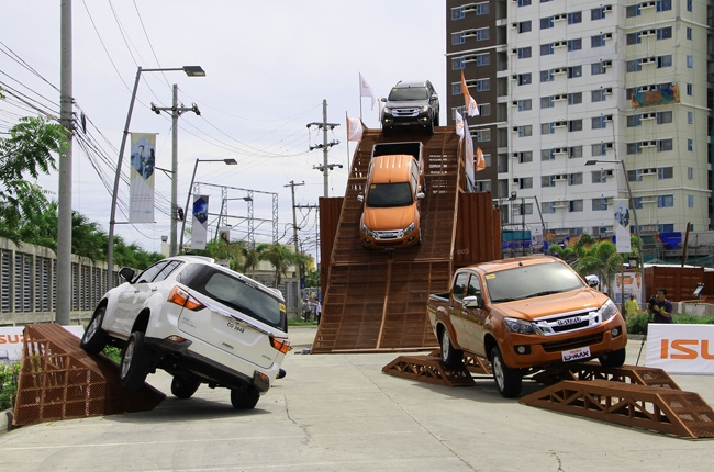 Isuzu PH brings 4x4 Action Playground in Iloilo