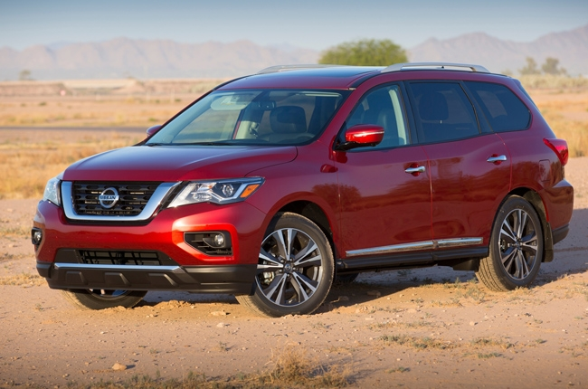 2017 Nissan Pathfinder debuts with more power, better tech
