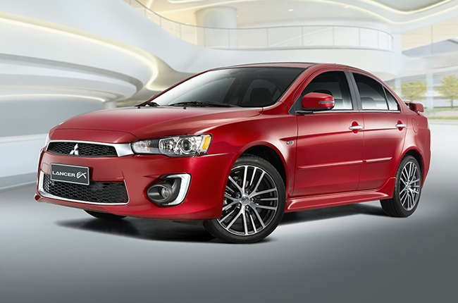 Mitsubishi PH launches refreshed Lancer EX