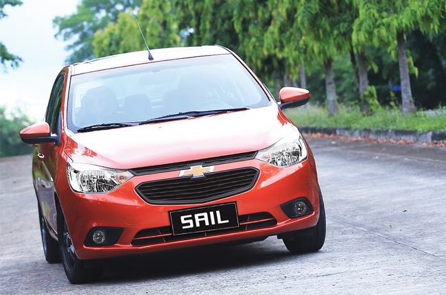 Chevrolet PH officially launches Sail subcompact sedan