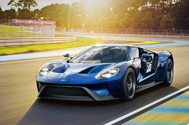 2017 Ford GT undergoes wind tunnel testing