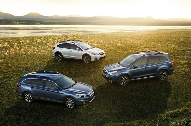 Subaru Outback, Forester, and XV sweep 2016 AutoPacific Ideal Vehicle Awards