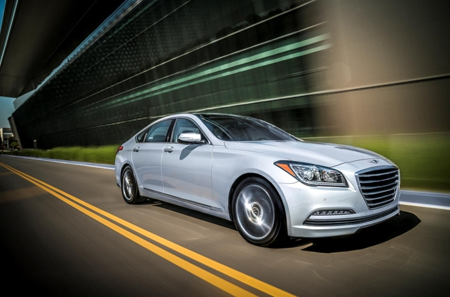 Genesis previews its G80 luxury sedan