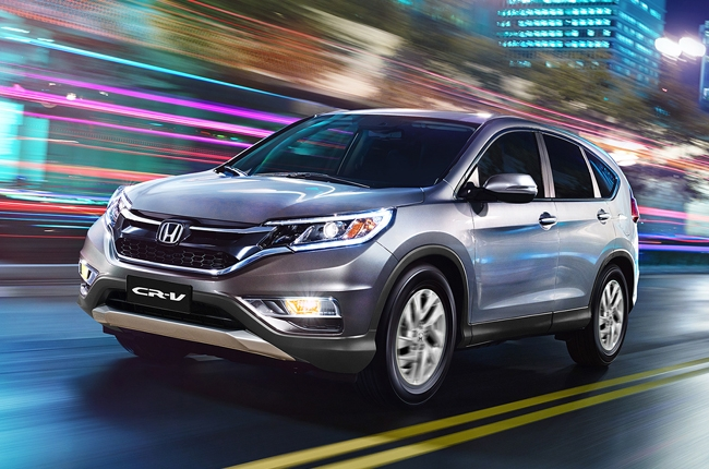 Honda launches a new glimmering color option for the CR-V