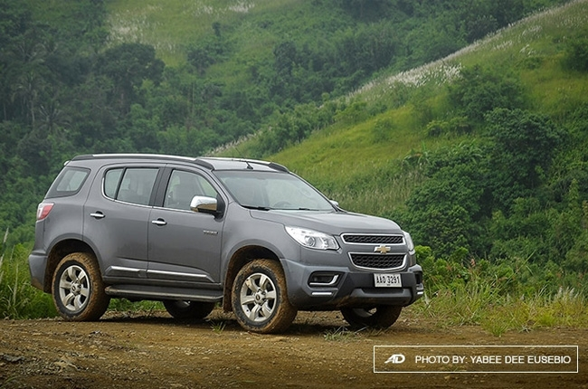 Take a closer look at the Chevrolet Trailblazer 2.8 AT 4x2 L