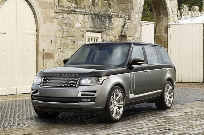 Land Rover Range Rover tops premium SUV class in 2016 J.D. Power APEAL study