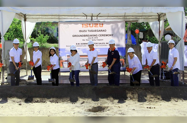 Isuzu PH holds Tuguegarao facility groundbreaking