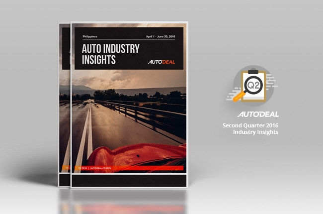 AutoDeal Launches Q2 2016 Auto-Industry Insights.