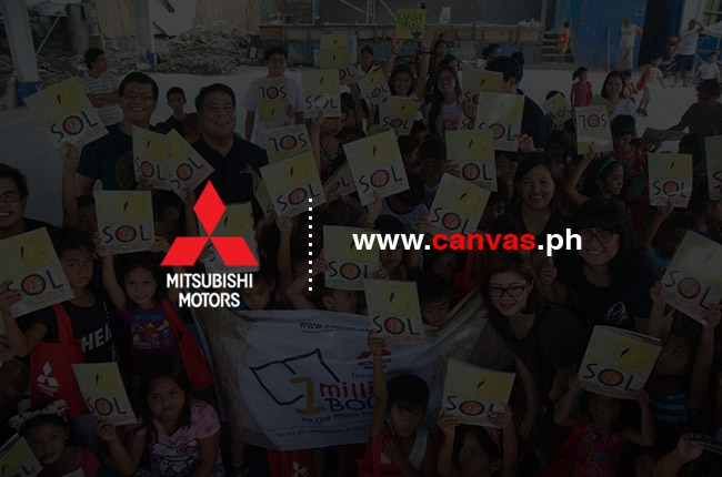 Mitsubishi PH, CANVAS unite for reading literacy and art appreciation