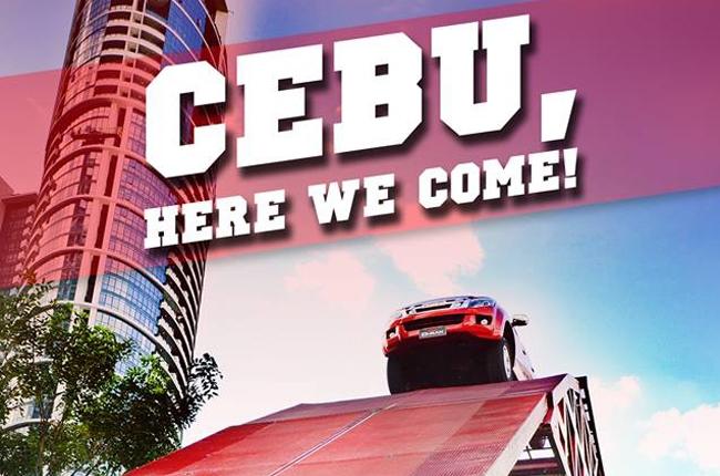 Isuzu 4x4 Action Playground is headed to Cebu this week