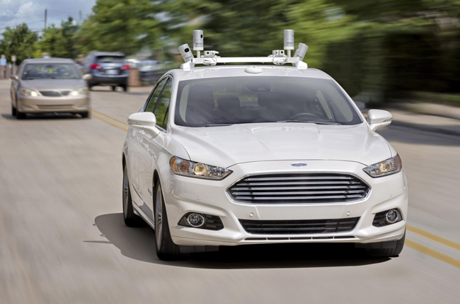 Ford is developing autonomous vehicles for ridesharing by 2021