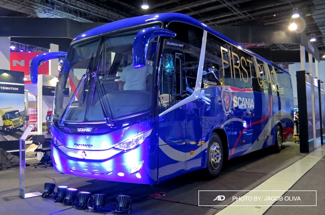 Scania PH launches new Marcopolo first class bus