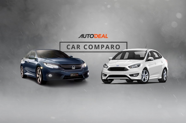 Car Comparo: Which is the better compact sedan, Ford Focus or Honda Civic?