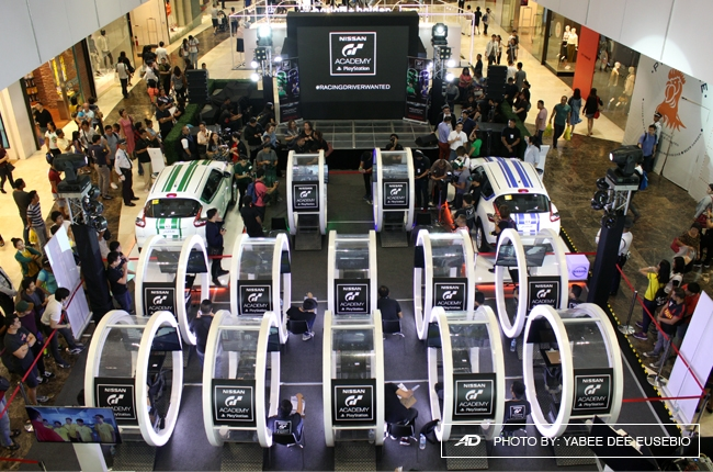 Nissan GT Academy ends recruitment stage with Celebrity Challenge