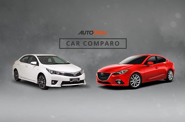 Car Comparo: The Japanese compact sedan showdown, Toyota Altis vs Mazda3