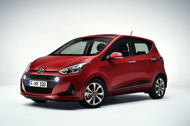 Hyundai reveals i10's new face