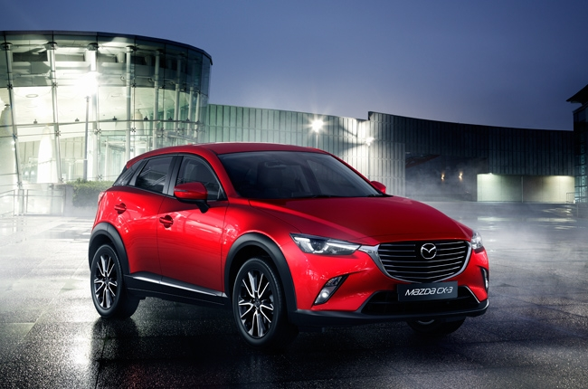Mazda CX-3 makes early PH debut