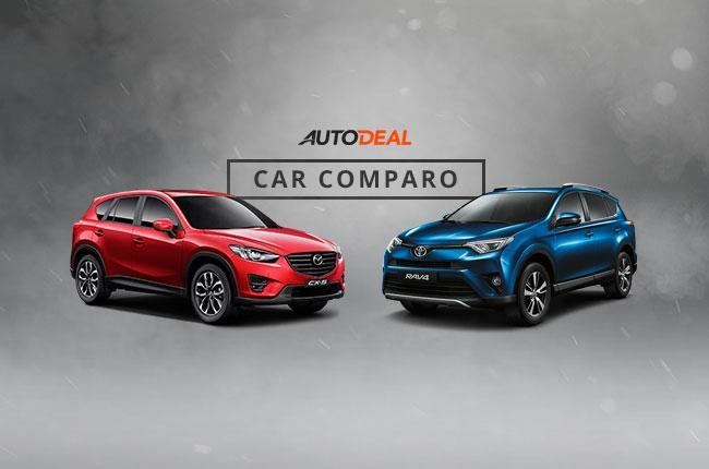 The compact crossover showdown: Toyota RAV4 vs Mazda CX-5