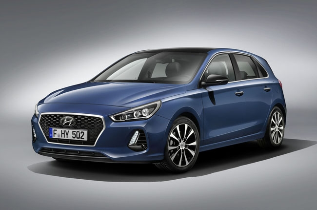 Hyundai unveils 2017 i30 ahead of Paris debut