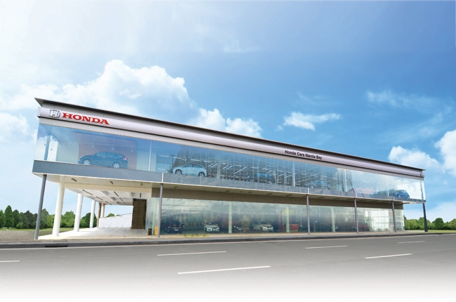 Honda PH inaugurates Manila Bay showroom