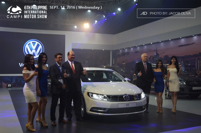PIMS 2016: Volkswagen brings in the CC midsize luxury coupe