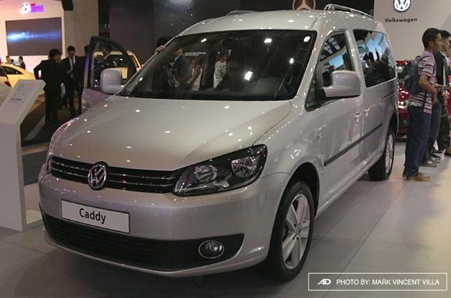 PIMS 2016: Volkswagen debuts Caddy MPV