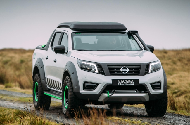 Nissan Navara EnGuard concept is ready for doomsday