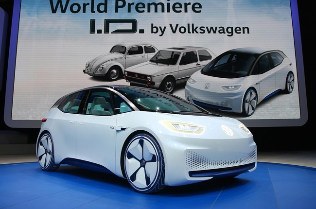 Paris 2016: Volkswagen ID electric concept revealed