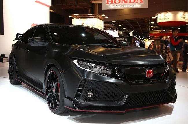 Paris 2016: Honda Civic Type R Prototype unleashed