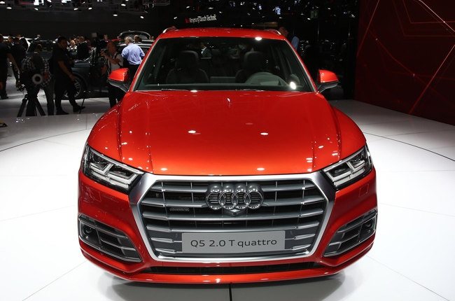 Paris 2016: Audi reveals new, lighter Q5
