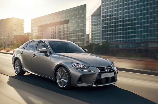 Paris 2016: Lexus showcases facelifted IS sedan