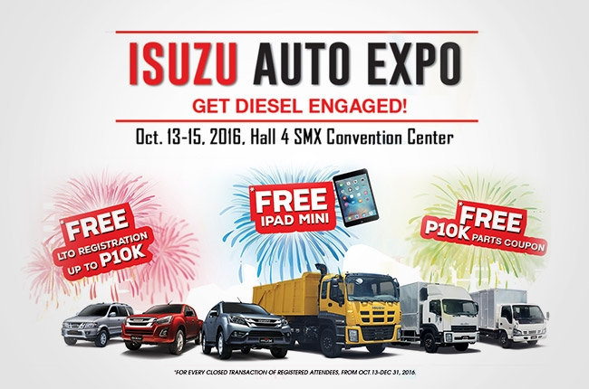 Isuzu PH to hold Auto Expo this October