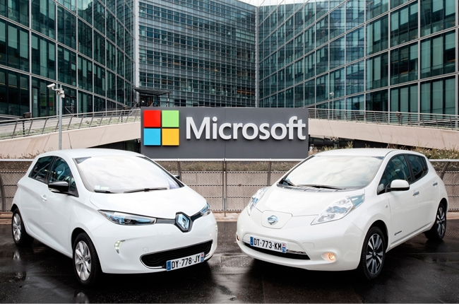 Renault-Nissan, Microsoft team up to develop next-gen mobility