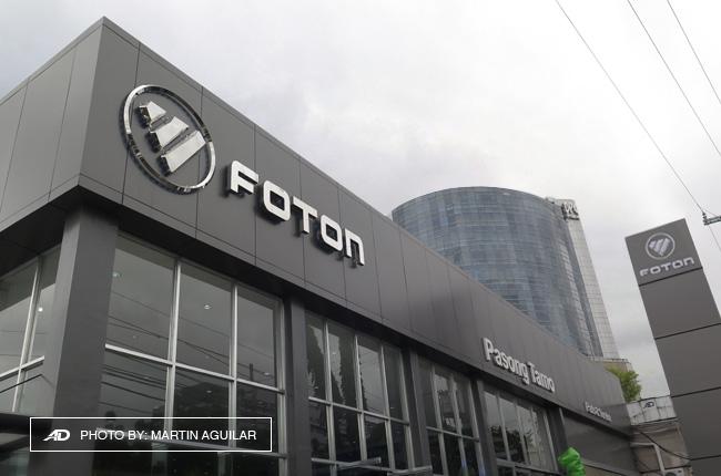 FOTON PH opens 23rd dealership in Pasong Tamo Makati
